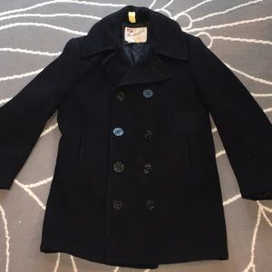 Jackets & Blazers - ORIGINAL NAVAL PEA COAT